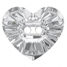 Swarovski 3023 Heart 14x12mm Crystal (2 vnt)
