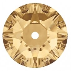 Swarovski 3188 XIRIUS Lochrose 5mm Crystal Golden Shadow (20 vnt)