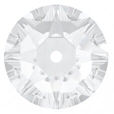 Swarovski 3188 XIRIUS Lochrose 5mm Crystal unfoiled (20 vnt)