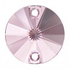 Swarovski 3200 Rivoli Round 14mm Light Rose (2 vnt)
