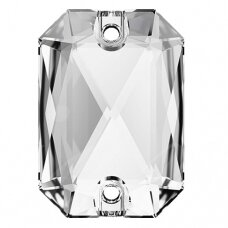 Swarovski 3252 Emerald Cut 14mm Crystal (2 vnt)