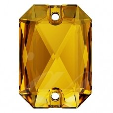 Swarovski 3252 Emerald Cut 14mm Sunflower (2 vnt)