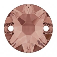 Swarovski 3288 XIRIUS Round 8mm Blush Rose (6 vnt)