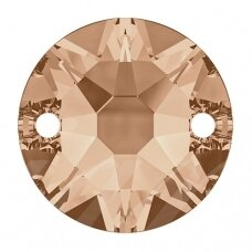 Swarovski 3288 XIRIUS Round 8mm Light Peach (6 vnt)