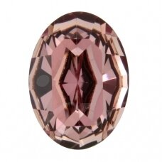 Swarovski 4128 XILION Oval 14x10mm Crystal Antique Pink (2 vnt)
