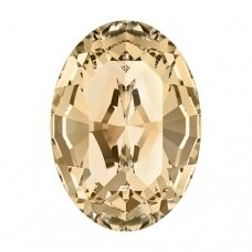 Swarovski 4128 XILION Oval 14x10mm Crystal Golden Shadow (2 vnt)