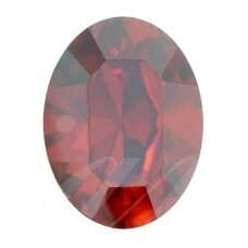 Swarovski 4128 XILION Oval 8x6mm Crystal Red Magma (4 vnt)