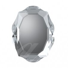 Swarovski 4142 Baroque Mirror 10x8mm Crystal (2 vnt)