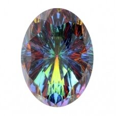 Swarovski 4160 Mystic Oval 14x10mm Crystal Vitrail Medium
