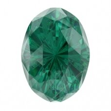 Swarovski 4160 Mystic Oval 18x13mm Emerald