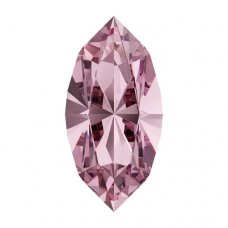 Swarovski 4228 XILION Navette 8x4mm Light Rose (4 vnt)