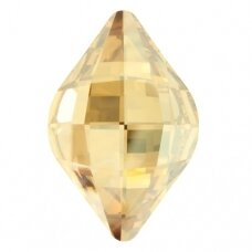 Swarovski 4230 Lemon 23x15mm Crystal Golden Shadow