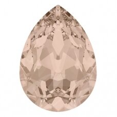 Swarovski 4320 Pear 10x7mm Vintage Rose (2 vnt)