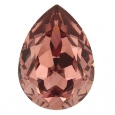 Swarovski 4320 Pear 14x10mm Blush Rose