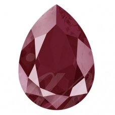 Swarovski 4320 Pear 14x10mm Crystal Dark Red