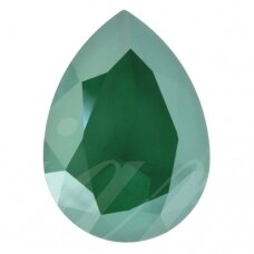 Swarovski 4320 Pear 18x13mm Crystal Royal Green