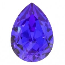 Swarovski 4320 Pear 6x4mm Majestic Blue (4 vnt)