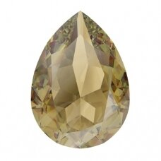 Swarovski 4320 Pear 8x6mm Light Colorado Topaz Ignite (2 vnt)