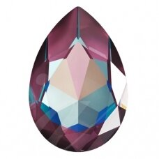 Swarovski 4327 Pear 30x20mm Crystal Burgundy DeLite