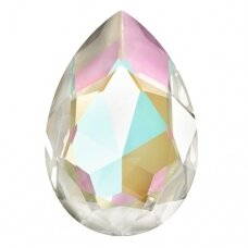 Swarovski 4327 Pear 30x20mm Crystal Light Grey DeLite