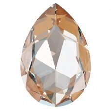 Swarovski 4327 Pear 30x20mm Crystal Peach DeLite