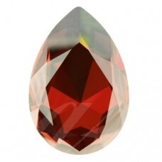 Swarovski 4327 Pear 30x20mm Crystal Red Magma