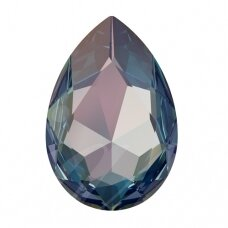 Swarovski 4327 Pear 30x20mm Crystal Royal Blue DeLite