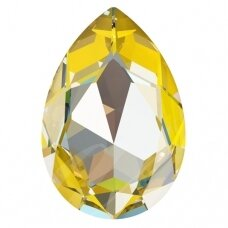 Swarovski 4327 Pear 30x20mm Crystal Sunshine DeLite