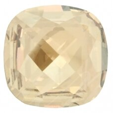 Swarovski 4461 Classical Square 12mm Crystal Golden Shadow