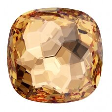 Swarovski 4483 Fantasy Cushion 12mm Light Colorado Topaz