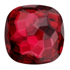 Swarovski 4483 Fantasy Cushion 14mm Scarlet