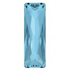 Swarovski 4547 Princess Baguette 24x8mm Aquamarine