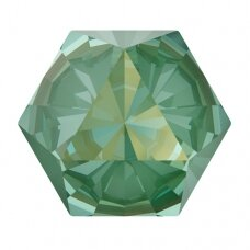 Swarovski 4699 Kaleidoscope Hexagon 20x22.9mm Crystal Silky Sage DeLite