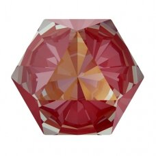 Swarovski 4699 Kaleidoscope Hexagon 6x6.9mm Crystal Royal Red DeLite (4 vnt)