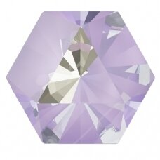 Swarovski 4699 Kaleidoscope Hexagon 9.4x10.8mm Crystal Lavender DeLite (2 vnt)