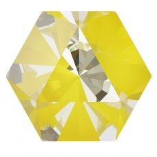 Swarovski 4699 Kaleidoscope Hexagon 9.4x10.8mm Crystal Sunshine DeLite (2 vnt)
