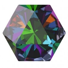 Swarovski 4699 Kaleidoscope Hexagon 9.4x10.8mm Crystal Vitrail Medium (2 vnt)