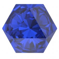 Swarovski 4699 Kaleidoscope Hexagon 9.4x10.8mm Majestic Blue (2 vnt)