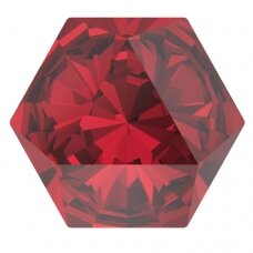 Swarovski 4699 Kaleidoscope Hexagon 9.4x10.8mm Scarlet (2 vnt)