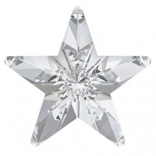 Swarovski 4745 Rivoli Star 5mm Crystal (8 vnt)
