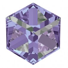 Swarovski 4841 Cube 8mm Crystal Vitrail Light unfoiled