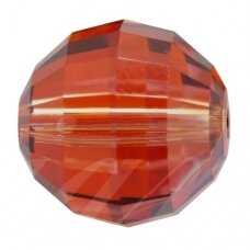 Swarovski 5005 Chessboard 12mm Crystal Red Magma (2 vnt)