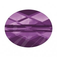 Swarovski 5051 Mini Oval 8x6mm Amethyst (2 vnt)