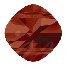 Swarovski 5180 Square (2 skylutės) 8mm Crystal Red Magma (2 vnt)