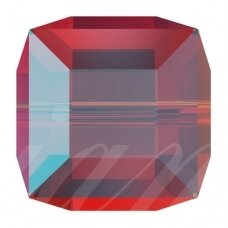 Swarovski 5601 Cube 6mm Light Siam Shimmer B (2 vnt)