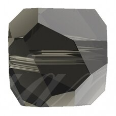 Swarovski 5603 Graphic Cube 6mm Black Diamond (4 vnt)