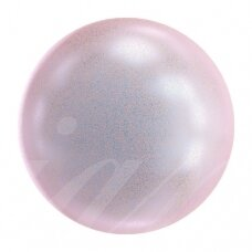 Swarovski 5810 Round 12mm Iridescent Dreamy Rose (6 vnt)