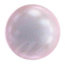 Swarovski 5817 Cabochon Half Drilled 6mm Iridescent Dreamy Rose (8 vnt)