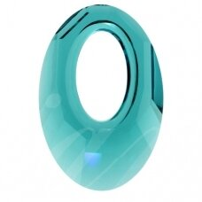 Swarovski 6040 Helios 20mm Blue Zircon