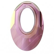 Swarovski 6040 Helios 30mm Crystal Lilac Shadow